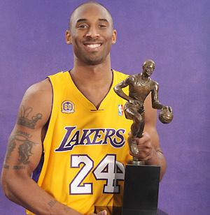 Kobe Bryant on Kobe Bryant  Kobe Bryant Mvp De 2008