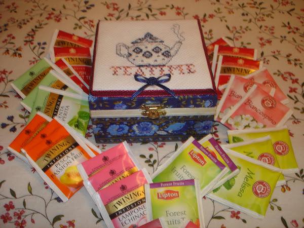 scatola del thè