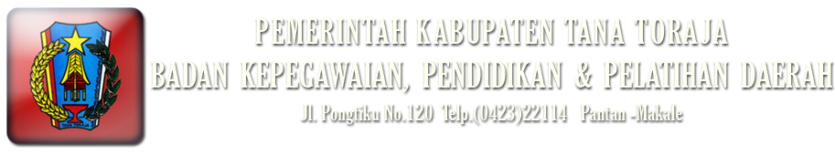 BKPPD Tana Toraja