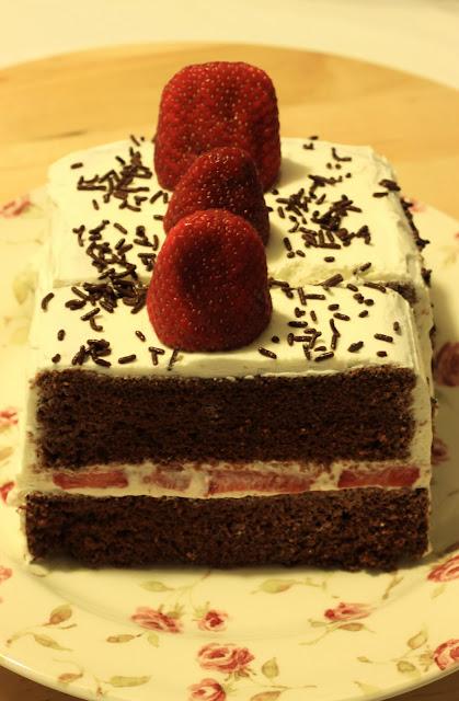 Really Bouncy Sponge Cake