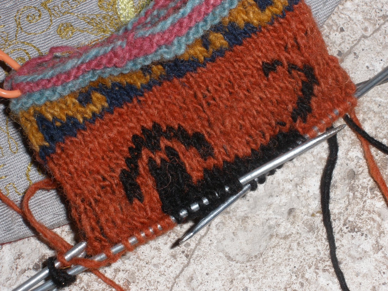 Project Fleece: a peruvian knitting lesson