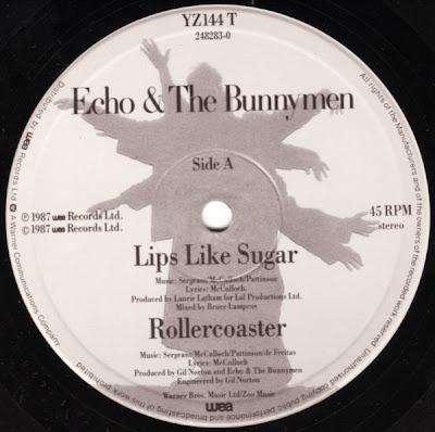 Spy In The Cab Echo Amp The Bunnymen Lips Like Sugar 1987