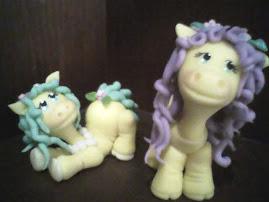Hermosos ponys