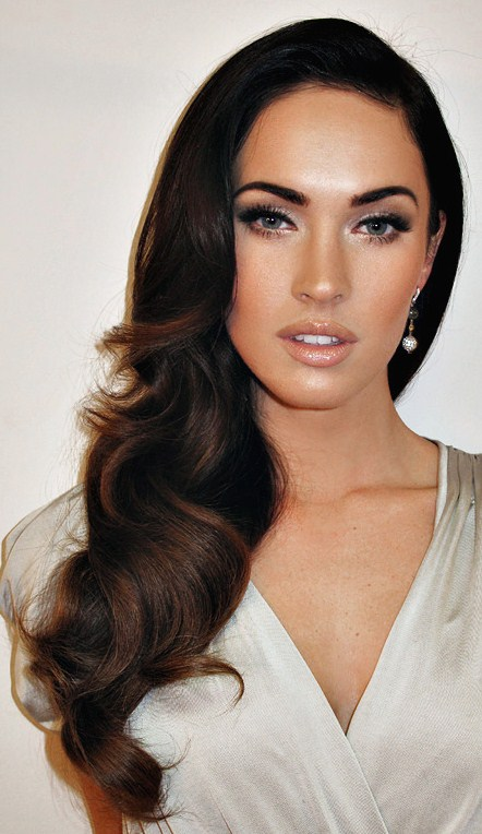 megan fox makeup tips. Just when you think Megan Fox