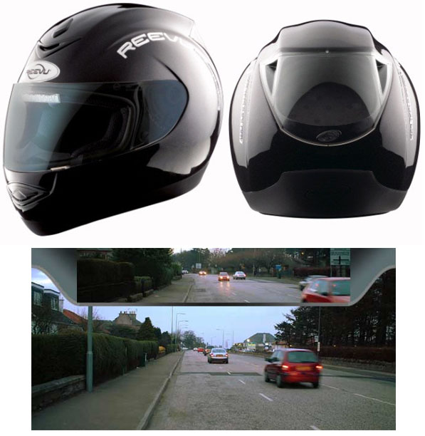 rear view mirror motorcycle helmet. Black Bedroom Furniture Sets. Home Design Ideas