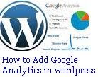 Add Google Analytics in Wordpress guide-tips