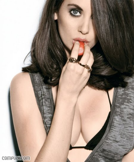 alison brie complex. Girlfriend of the Week