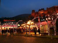 Heidelberg, Altstadt, Weihnachtsmarkt, Lärm