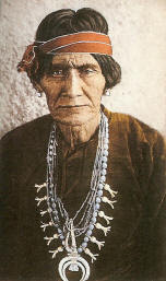 Naja and the origin of squash blossom necklace goddess findings for many centuries before the development of beads naja and crosses were worn as a pendants suspended from a cord or thong the photo below is of little aloadofball Gallery