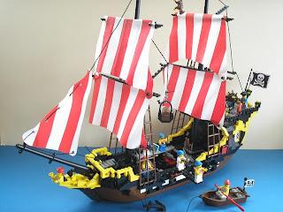 Cheap Lego Pirate Ship Toy
