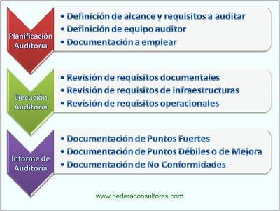 Proceso auditoría interna ISO 9001