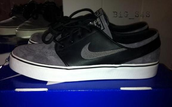 nike sb zoom stefan janoski black midnight fog
