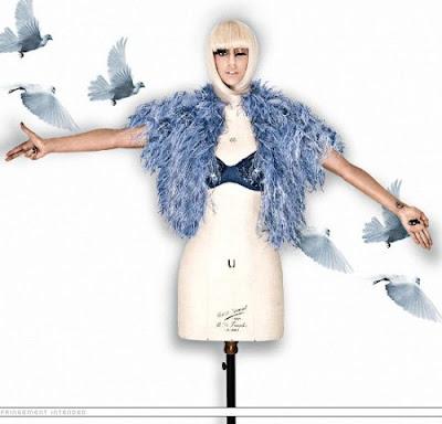 Lady GaGa-papusa Illuminatilor Ladygagahandoffatimamannequin