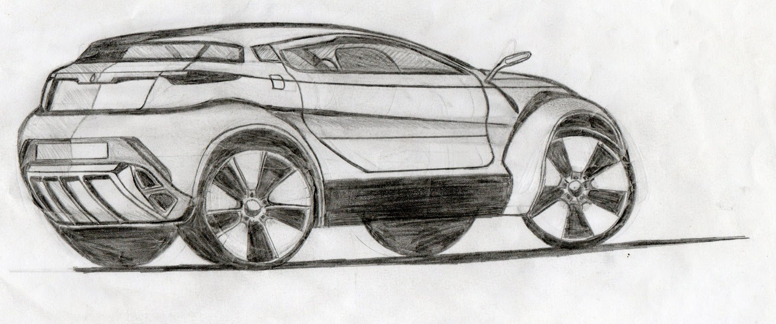 khalfi oussama design: some of my car sketches