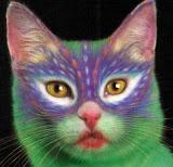 Arte com Gatos