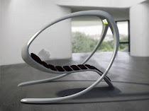 cadeira futurista