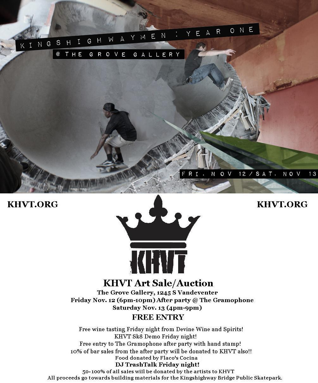 KING\'S HIGHWAY: KHVT Art Sale/Auction coming soon!!!!