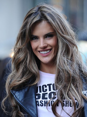 Largo y rizado peinados para el 2010