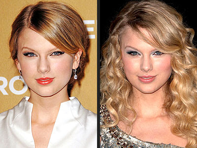 Taylor Swift New Hair 2010. Taylor Swift Hairstyle: