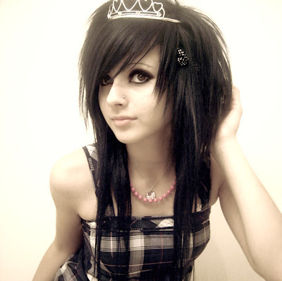 scene hairstyle tips. scene hairstyles for girls