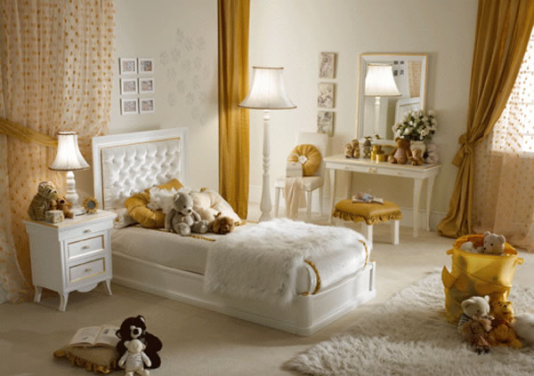 Beautiful Luxury Girls Bedroom Designs