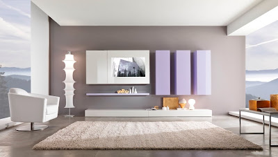 Modern black and white living room furniture from giessegi