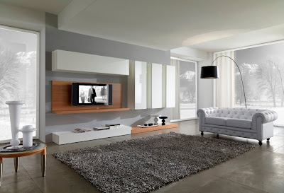 Site Blogspot  Furniture Living Room Chairs on Modern Black And White Furniture For Living Room From Giessegi