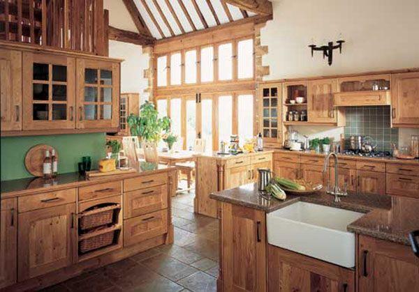 Natural Oak Kitchen