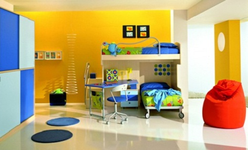 Excellent Colorful Boys Bedroom Design Set And Furniture For Children