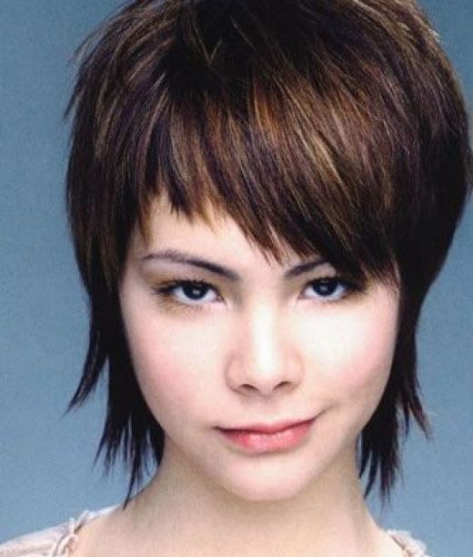 short layered hairstyles for women. layered hairstyles for short
