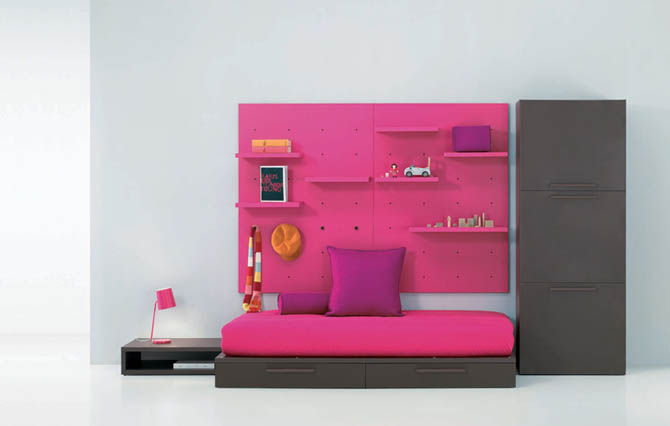 Top 15 creative kids room interior cool colorful design for Junior room decor ideas