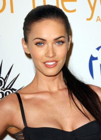 Megan Fox Face Lift. hairstyle for square face.