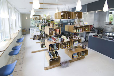 Beautiful Cafe World Layout Interior Design in Denmark ~ Garden ...