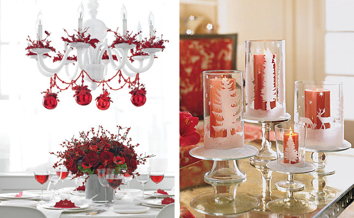 Beautiful Christmas Table Decorating Ideas Home Office