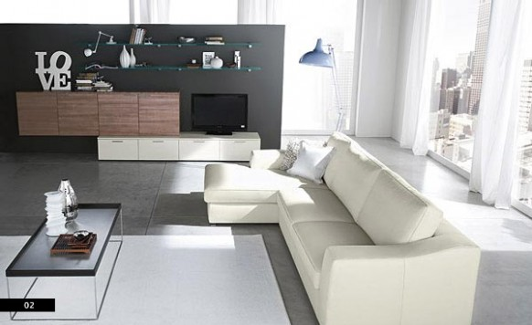 Interior Design: Modern Elegant Sofa Sets Design