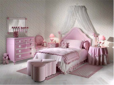 Bedroom Furniture  Kids on Design And Style Ideas  Pink Kids Bedroom Furniture Design Ideas