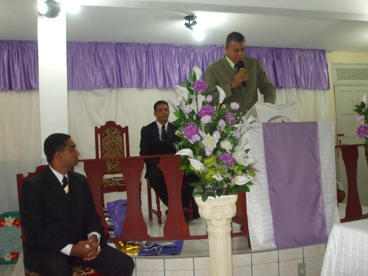 MINISTRANDO A PALAVRA DE DEUS NA AD DO BAIRRO INDUSTRIAL