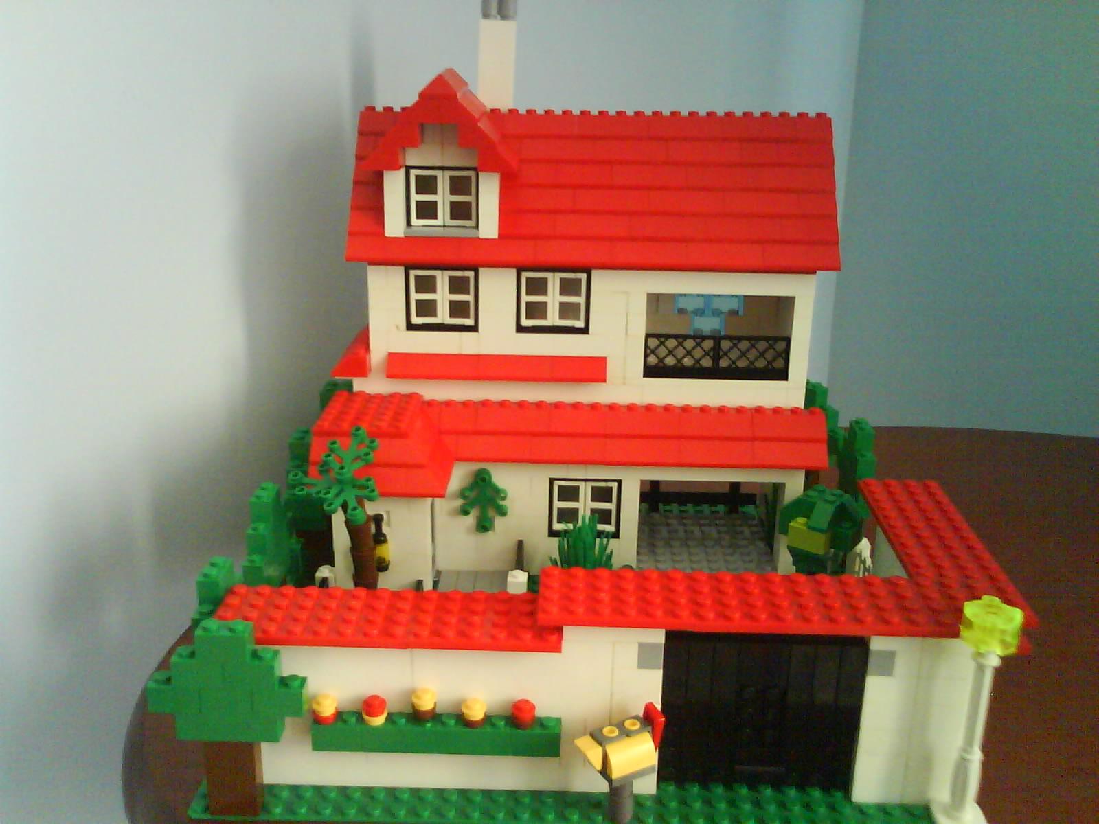 Como Hacer Una Sala De Estar Lego ~  sala, cozinha e banheiro No segundo os quartos e no terceiro u
