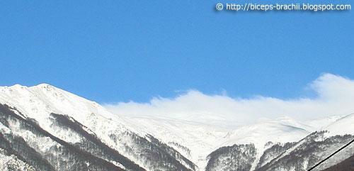 Wild Shar Mountain: Snow at the Peaks