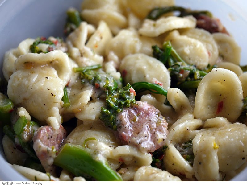 Skillet Orecchiette With Sausage And Broccoli Rabe Recipe ...