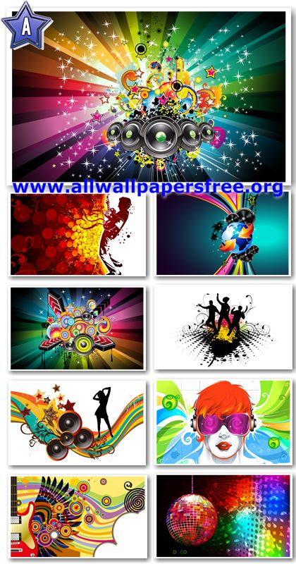 80 Colorful Vector Art Music Wallpapers 1920 X 1200