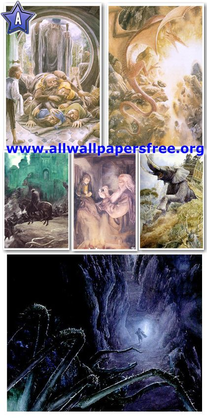 90 Amazing Fantasy Artworks by Alan Lee [Up to 1600 Px]
