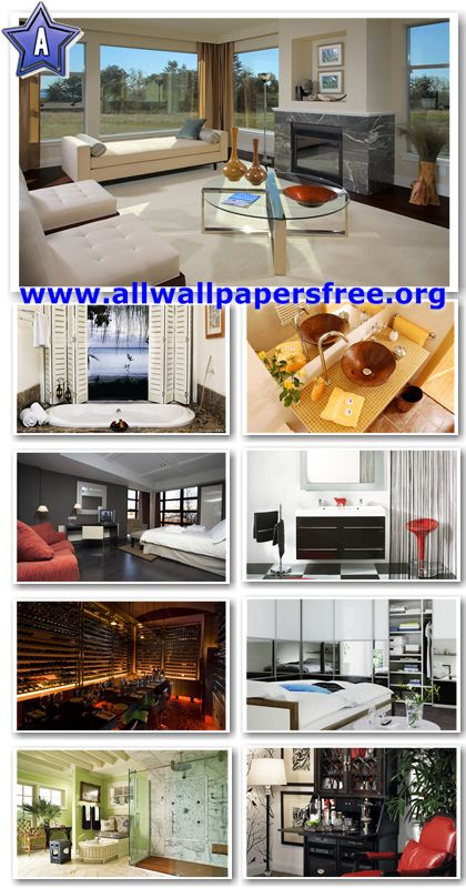 40 Amazing Interior Designs Wallpapers 1920 X 1200 [Set 2]