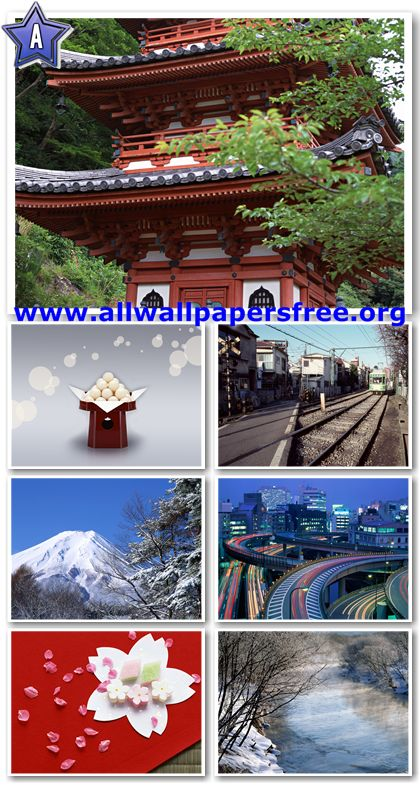 50 Beautiful Japan Views Wallpapers 1600 X 1200 [Set 16]