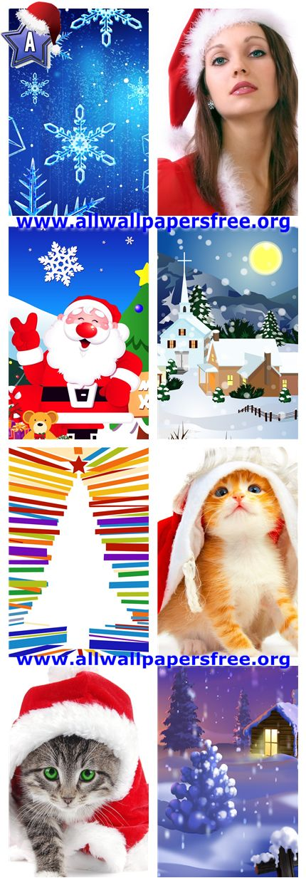 60 Beautiful Christmas Iphone 4 Wallpapers 640 X 960