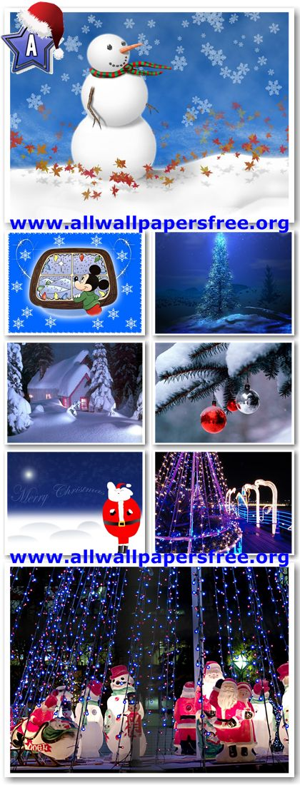 500 Beautiful Christmas Wallpapers 1024 X 768