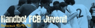 Handbol FCB Juvenil