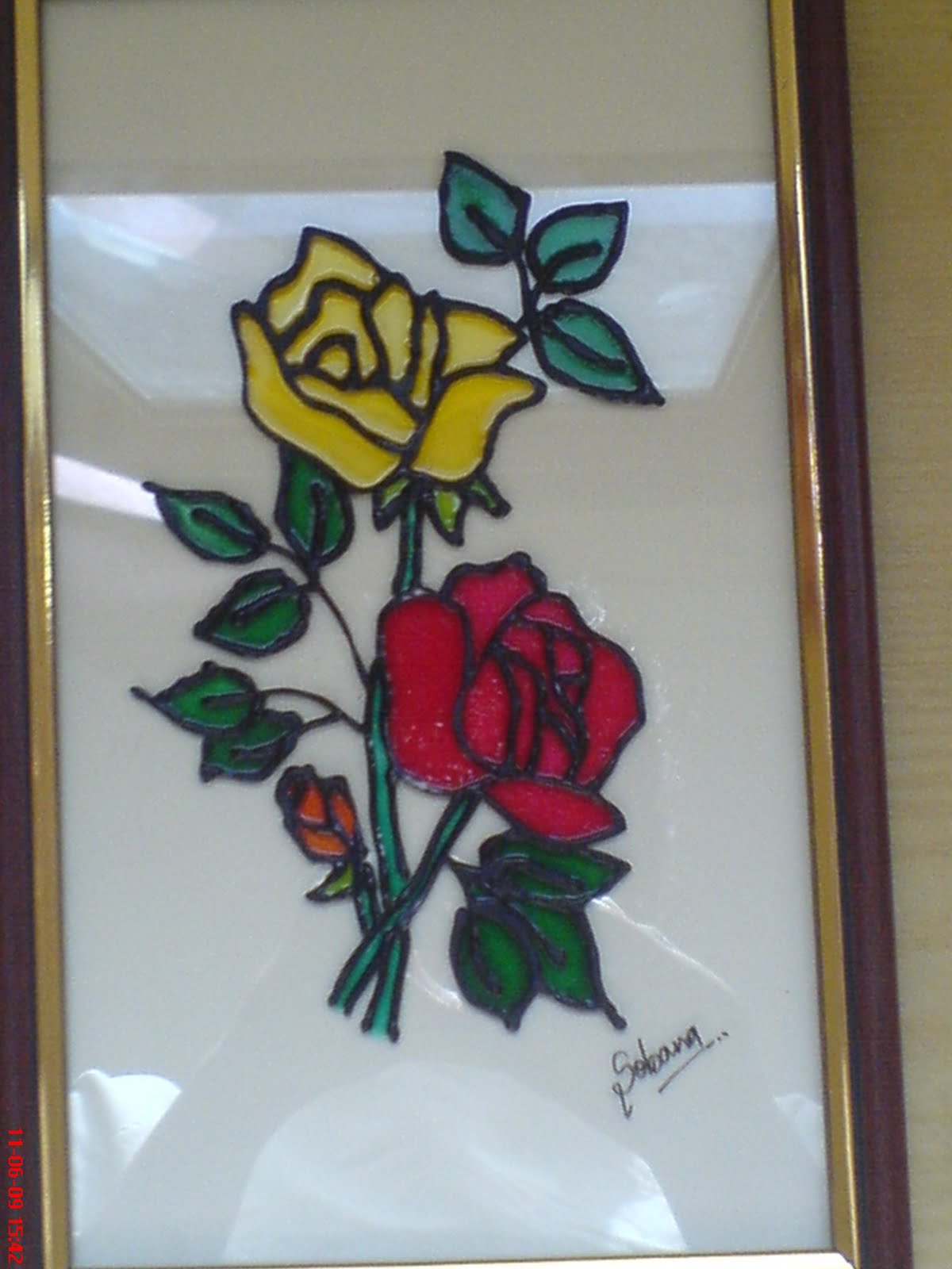 Pics for simple glass painting designs for beginners for Best glass painting designs