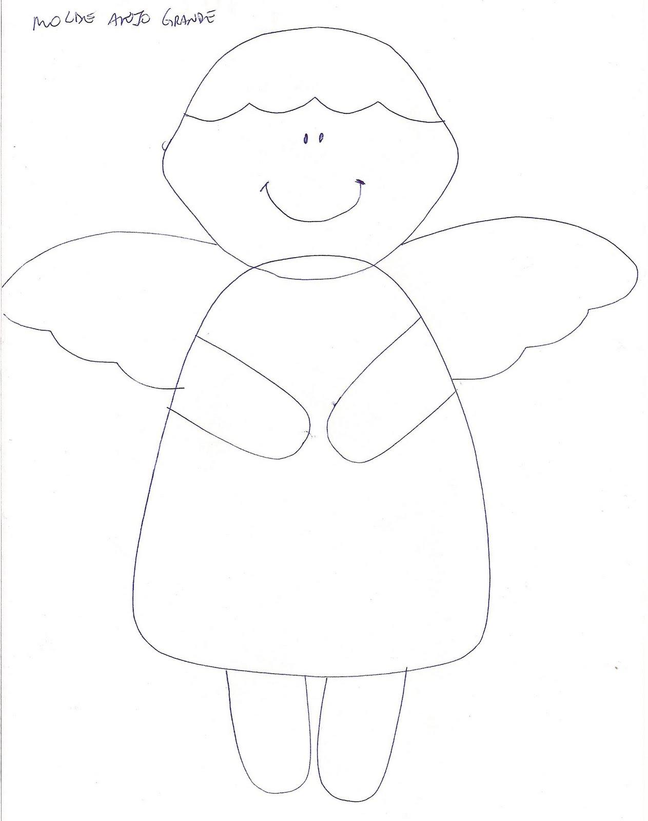 Molde Anjos