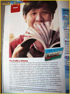Eugene Yu featured in Going Places Magazine - Malaysia Airlines in flight magazine